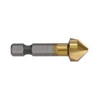 Countersink 3 Flute 13mm TiN 1/4in Hex Shank Carded