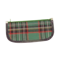 205 x 90mm Tartan Pencil Case