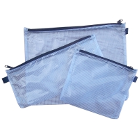 330 x 170mm Long Plastic Mesh Pencil Case