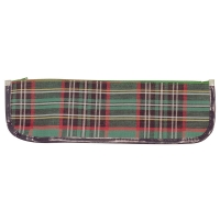 340 x 100mm Tartan Pencil Case