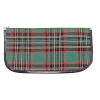 340 x 170mm Tartan Pencil Case