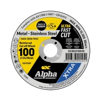 100 x 1.0mm Cutting Disc - Stainless Gold Series II
