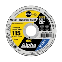 115 x 1.0mm Cutting Disc - Stainless Gold Series II