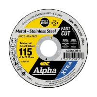 115 x 1.6mm Cutting Disc - Stainless Gold Series II