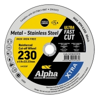 230 x 1.9mm Cutting Disc - Stainless Gold Series II
