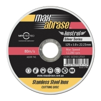 230 x 2.4mm Cutting Disc - Stainless Silver Series