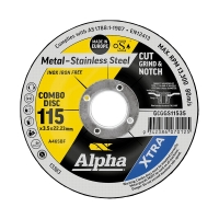 115 x 3.5mm Cut, Grind & Notch Combo Disc - Gold Series