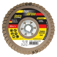 FLEXTRA Flap Disc-Stainless 125mm x ZK80 Grit