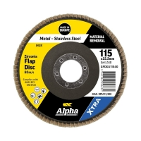 Flap Disc Gold Inox-Stainless 115mm x ZK40 Grit
