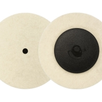 Felt Polishing Disc 75mm Roloc