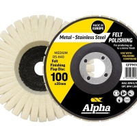 Polishing Flap Disc Gold 100mm Medium