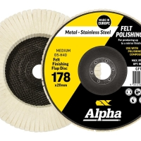 Polishing Flap Disc Gold 178mm Medium
