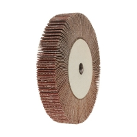 Flap Wheel for Angle Grinder 115mm x 20 x AO80 Grit
