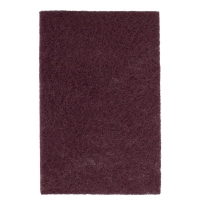 Non Woven Hand Pad 150 x 225mm Maroon