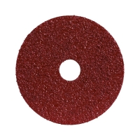 Resin Fibre Soft Metal Disc - 100mm x B60 Grit