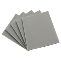 Maxabrase Flat Sanding Pad 5mm Single Side - Ultra Fine Grit