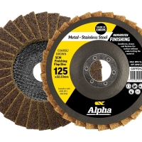 SCM Finishing Flap Disc 125mm Coarse/ Brown