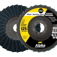 SCM Finishing Flap Disc 125mm Fine / Blue
