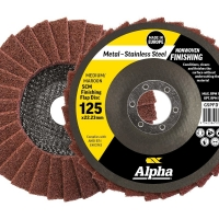 SCM Finishing Flap Disc 125mm Medium / Maroon