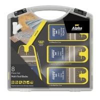8 Piece Multi-Tool Blade Set