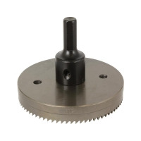 102mm HSS Hole Cutter Complete with Arbor