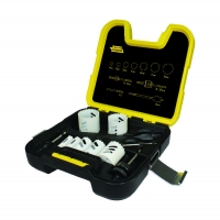 Plumbers 11 Piece: White Pointer Holesaw Kit