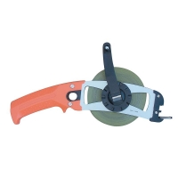 50m/165ft Pistol Steel Open Reel Tape Measure