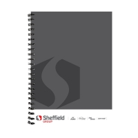 Sterling A4 Notebook Spiral Bound