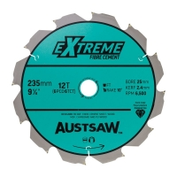 Austsaw - 235mm (9 1/4in) Polycrystalline Diamond Blade - 25/20mm Bore - 6PCD 6T