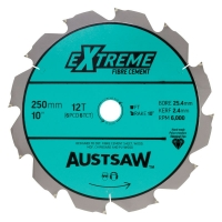 Austsaw - 250mm (10in) Polycrystalline Diamond Blade - 25.4mm Bore - 6PCD6TCT Te
