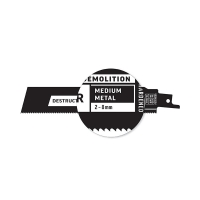 Destructor Demolition - Metal - Recip Blade, 14 TPI, 150mm - 25 Pack
