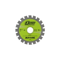Austsaw - 115mm (4.5in) Rotary Hacksaw Blade - 22.2mm Bore - 20 Teeth