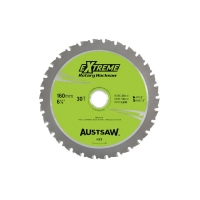 Austsaw - 160mm (6 1/4in) Rotary Hacksaw Blade - 20mm Bore - 30 Teeth