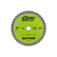 Austsaw - 185mm (7in) Rotary Hacksaw Blade - 20/16mm Bore - 36 Teeth