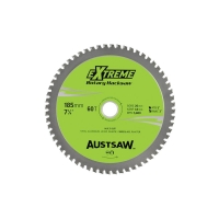 Austsaw - 185mm (7in) Rotary Hacksaw Blade - 20/16mm Bore - 60 Teeth