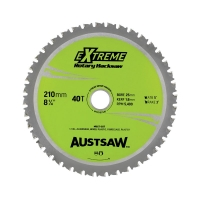 Austsaw - 210mm (8in) Rotary Hacksaw Blade - 25mm Bore - 40 Teeth