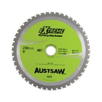 Austsaw - 230mm (9in) Rotary Hacksaw Blade - 25mm Bore - 48 Teeth