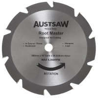 Austsaw - 305mm(12in) Rootmaster Blade - 25.4/20mm Bore - 10 Teeth