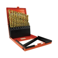 29pce Reduced Imperial Alpha Slimbox Drill Set 1/16-1/2in