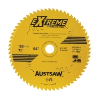 Austsaw Extreme Stainless Steel Blade 185mm x 20 x 64T