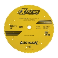 Austsaw Extreme Stainless Steel Blade 355mm x 25.4 x 110T