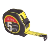 5m x 19mm Sterling Professional Tape Measure