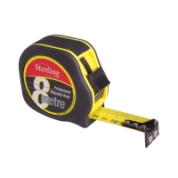8m Professional Magnetic Hook Tape Measure