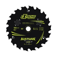 Austsaw Extreme: Wood with Nails Blade 160mm x 20/16 Bore x 18 T Thin Kerf