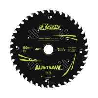 Austsaw Extreme: Wood with Nails Blade 160mm x 20/16 Bore x 40 T Thin Kerf