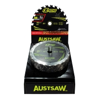 Austsaw Extreme: Wood with Nails Blade 165mm x 20 Bore x 24 T Thin Kerf Bulk Pac