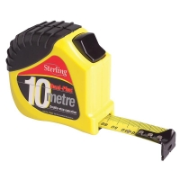 10m/33ft x 25mm Double Stop Tape measure