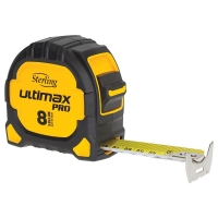 Sterling Ultimax Pro Tape Measure: 8m Metric