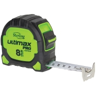 Sterling Ultimax Pro Tape Measure Easyread: 8m Metric