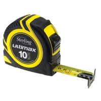 Sterling Ultimax Tape Measure: 10m Metric